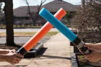 Pool Noodle Lightsaber DIY Craft