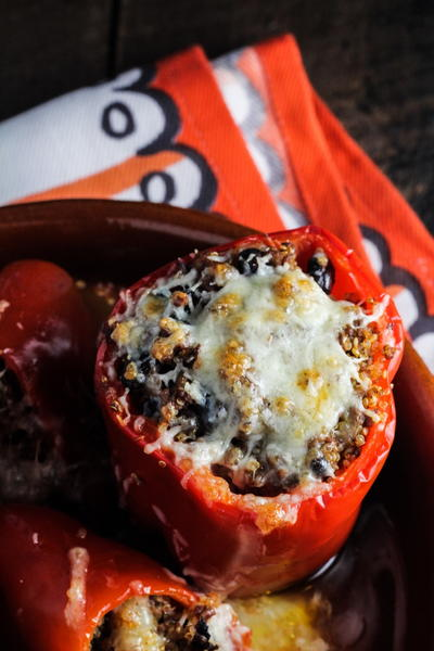 Fully Loaded Stuffed Peppers