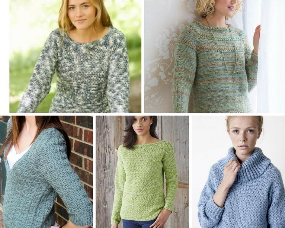 Crochet Mens Christmas Sweater Pattern Ladies Sweater Patterns