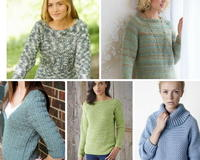 30+ Crochet Sweater Patterns for Fall