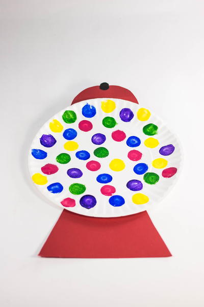 Adorable Gumball Machine Kids Craft