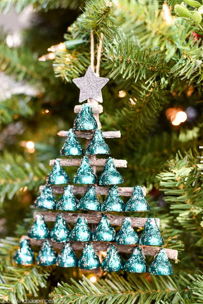 Seasons Greetings Hersheys Kisses Christmas Tree