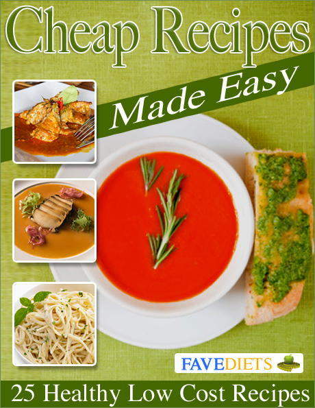 Cheap Recipes Made Easy 25 Healthy Low Cost Recipes
