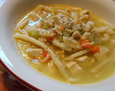 Copycat Bob Evans Chicken and Noodle Soup