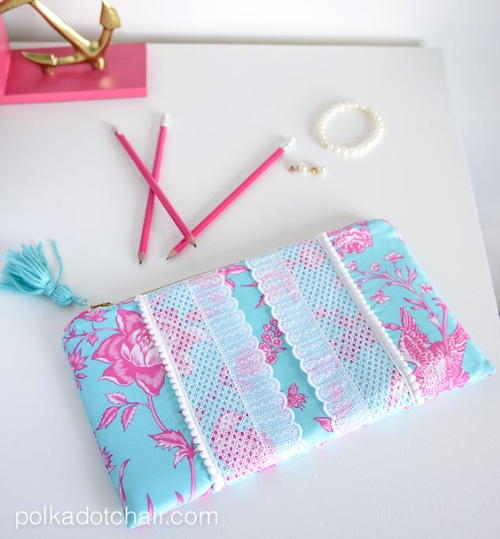 Lilly Pulitzer-Inspired Clutch