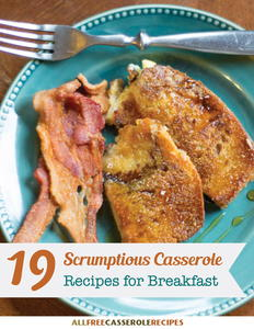 """19 Scrumptious Casserole Recipes for Breakfast"" Free eCookbook"
