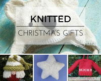 Knit Homemade Gift Ideas: 20 Knitted Christmas Gifts
