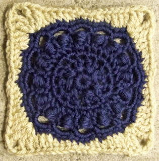 Scepter Crochet Square