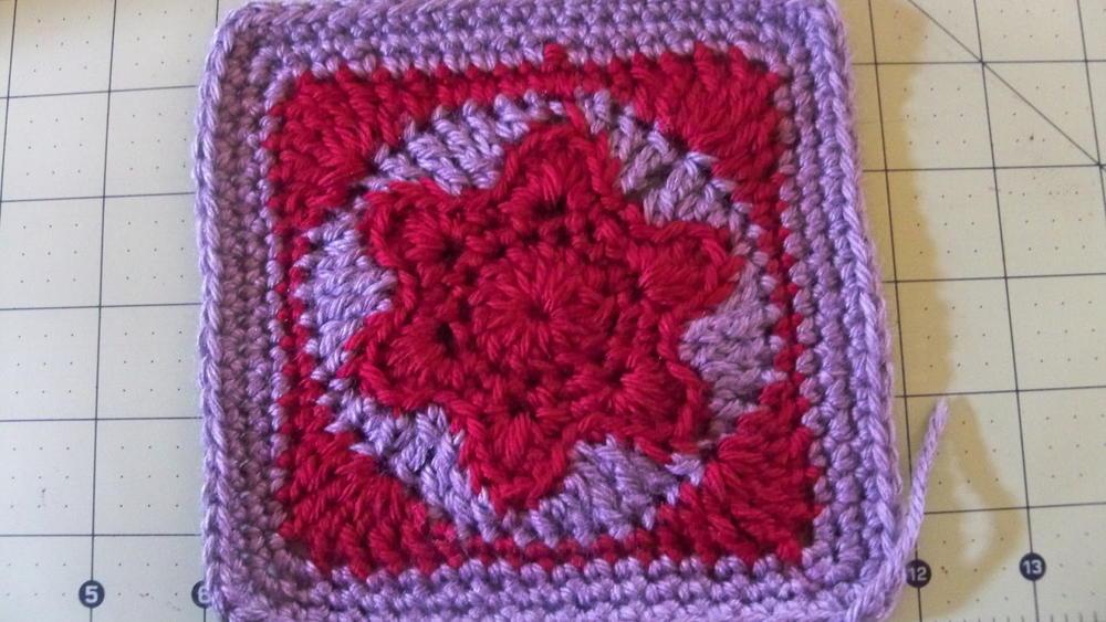 Star Of David Crochet Granny Square
