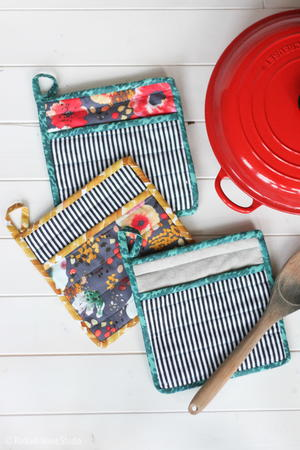 How to Sew a Simple Potholder