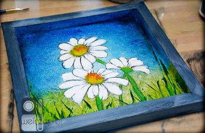 Delightful Daisy DIY Wall Art