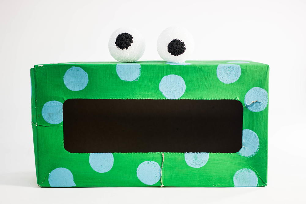 Tissue Box Monster Recycled Craft Allfreekidscrafts Com