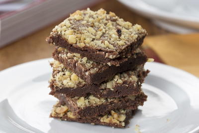 Chocolate Nutty Squares