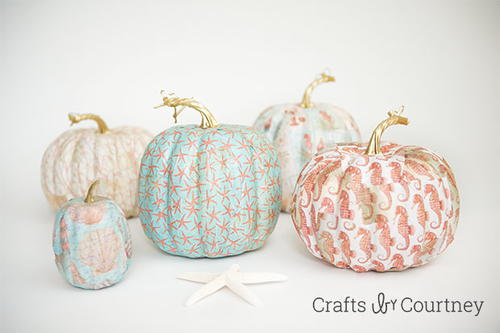 Autumn by the Sea Pumpkins Craft