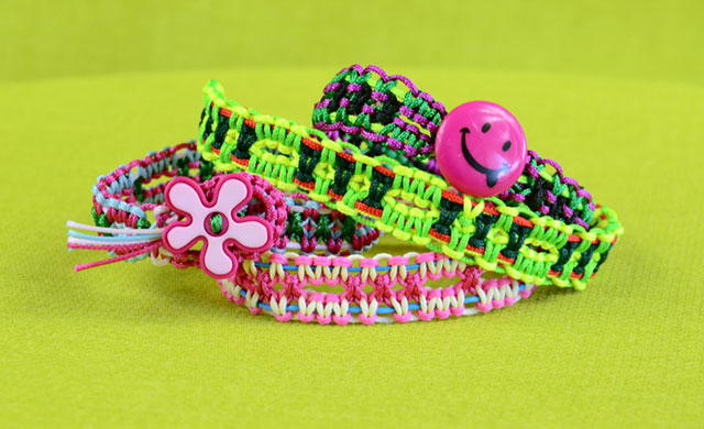 Square Knot DIY Friendship Bracelet
