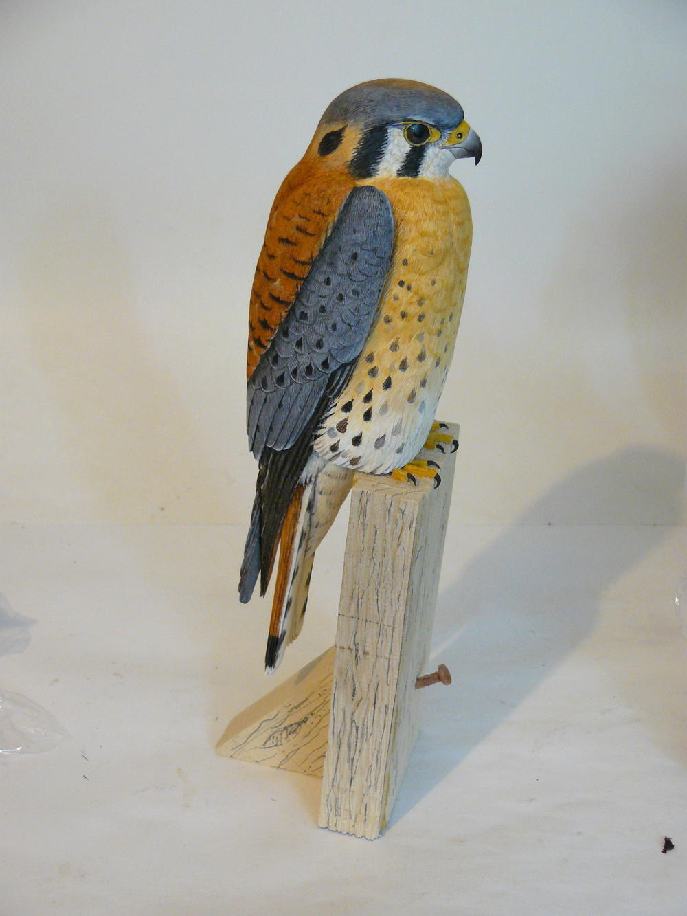 The littlest falcon wildfowl carving tutorial favecrafts