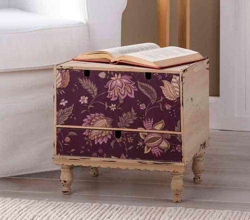 Marvelous Marsala Fabric Drawer Storage Chest