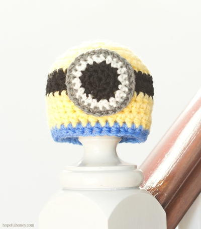 Baby Minion Crochet Hat Pattern