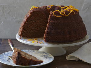 Orange-Spiced Rye Honey Cake