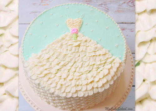 Buttercream Bridal Shower Cake