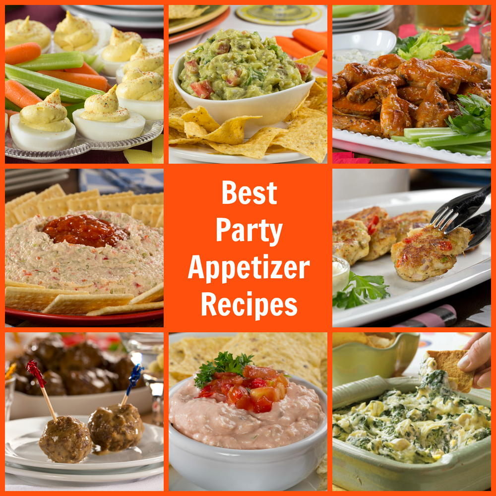party food recipes 10 best appetizer recipes mrfood 12520