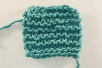 How to Knit Garter Stitch