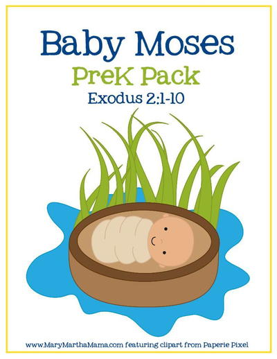 Baby Moses Preschool Activities