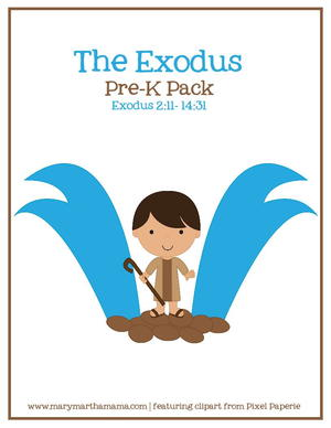 Exodus from Egypt Preschool Activities