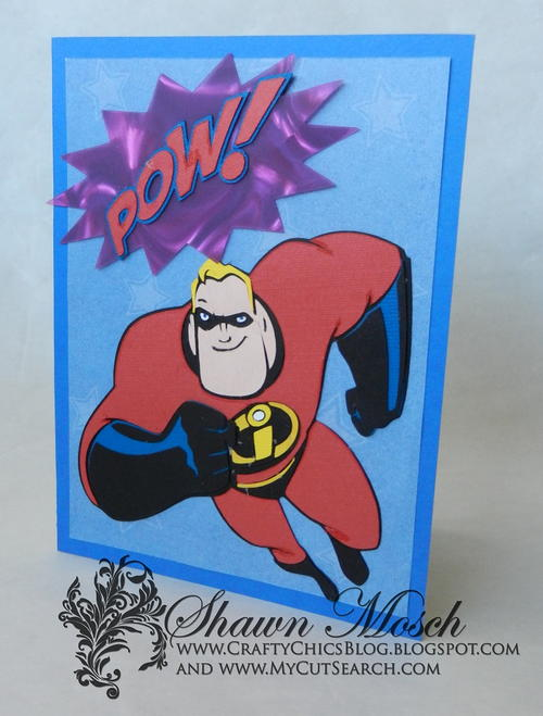 Mr. Incredible Card