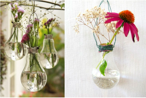 DIY Lovely Hanging Vases