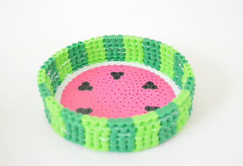 DIY Perler Beads Fruit Bowl