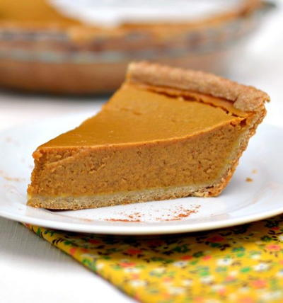 Maple Cinnamon Pumpkin Pie Recipe