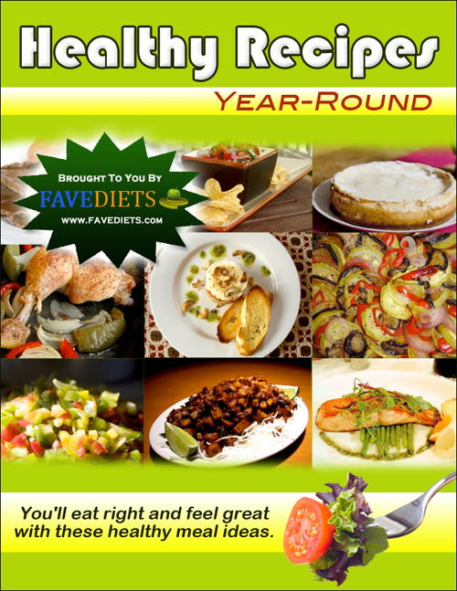 Healthy Recipes Year Round eCookbook