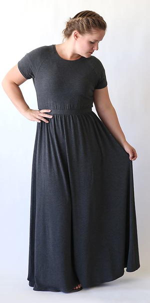 Raglan Maxi Dress Tutorial