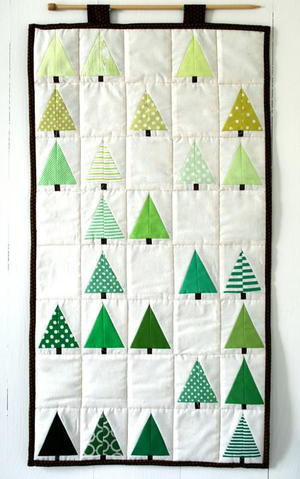 Lovely Little Forest Quilt