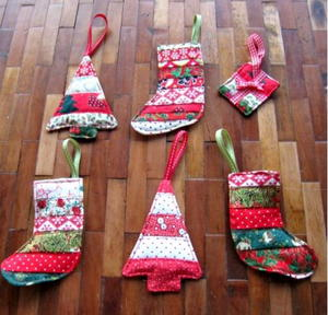 Clever Quilted Ornaments