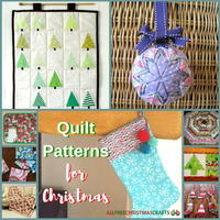 17 Quilt Patterns for Christmas