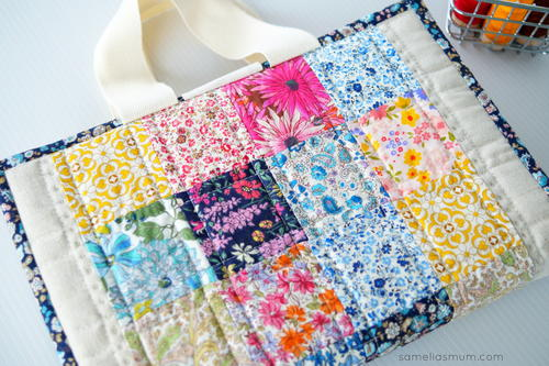 Quilted Book Cover Pattern Free : Easy laptop case tutorial allfreesewing