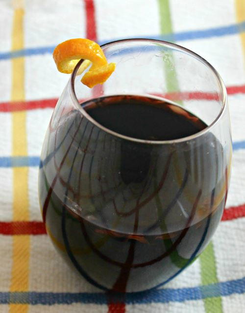 Easy Slow Cooker Mulled Wine