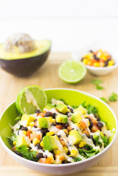 Quinoa and Black Bean Burrito Bowl