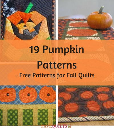 19 Pumpkin Patterns