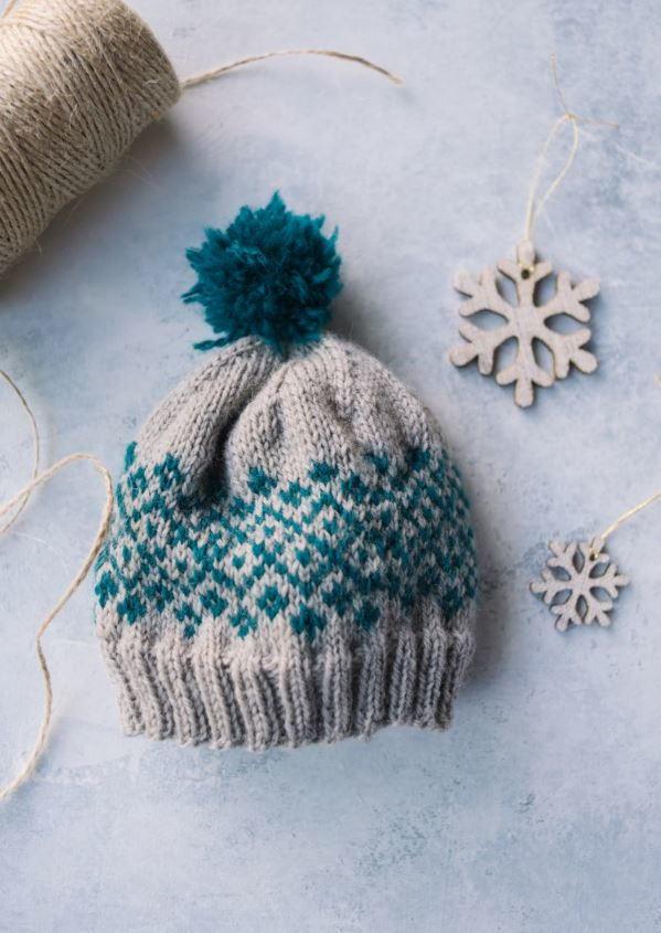 Knitting Holidays Shetland : Shetland baby knit hat allfreeknitting