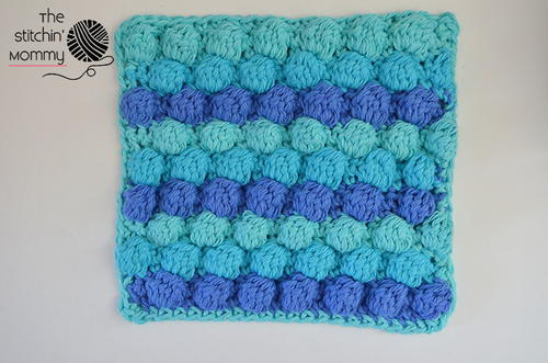 Little Bubbles Dishcloth
