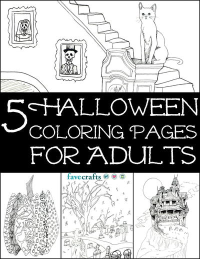 6 Free Printable Coloring Books PDF Downloads FaveCraftscom