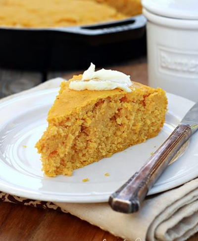 Easy Pumpkin Cornbread
