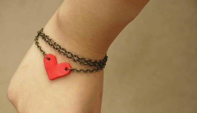 Loving Heart Chain Bracelet