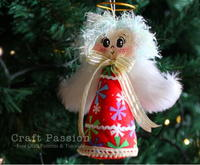 34 Fun and Cute Christmas Angel Crafts