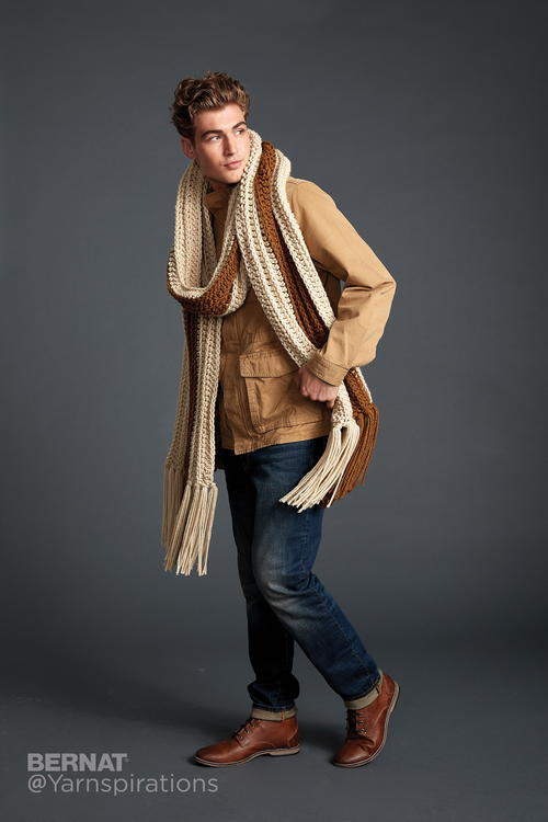 Cinnamon Sugar Super Scarf