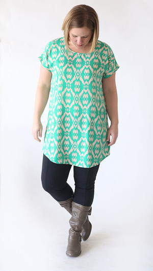 Breezy Tunic Tee Pattern