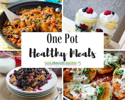 40 One Pot Healthy Meals